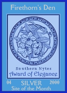 Southern Nytes Silver Award April 2000