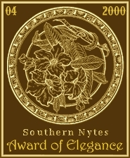 Southern Nytes Award of Elegance